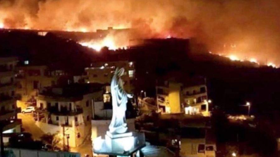 bosbranden libanon